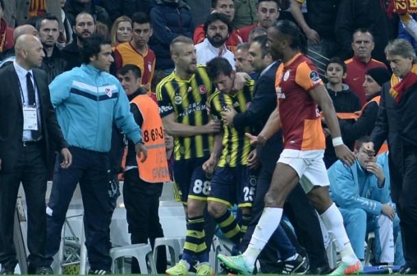 Derbinin galibi Galatasaray 38