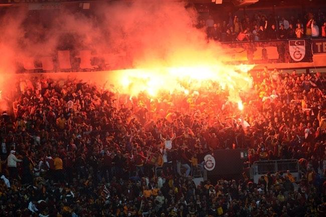 Derbinin galibi Galatasaray 5