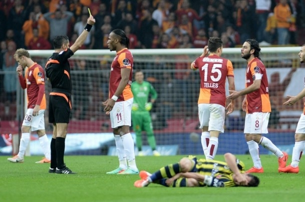 Derbinin galibi Galatasaray 50