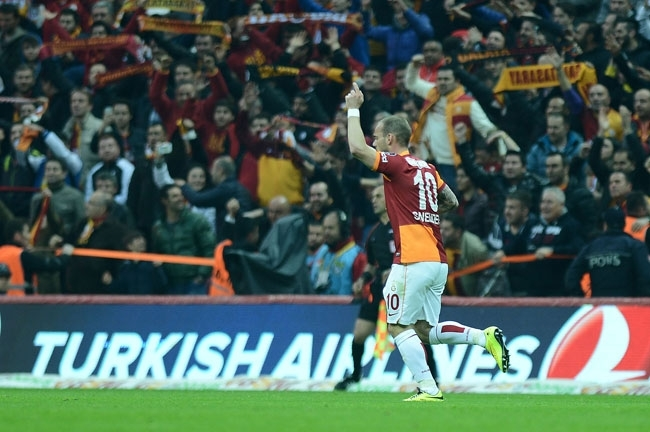 Derbinin galibi Galatasaray 7