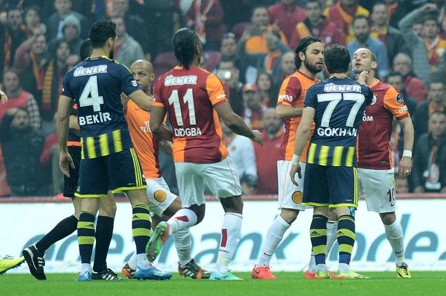Derbinin galibi Galatasaray 8