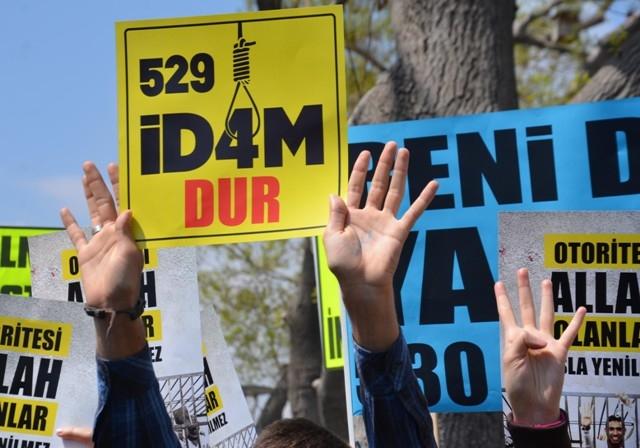 Mısır'daki idam kararları Konya'da protesto edildi 4