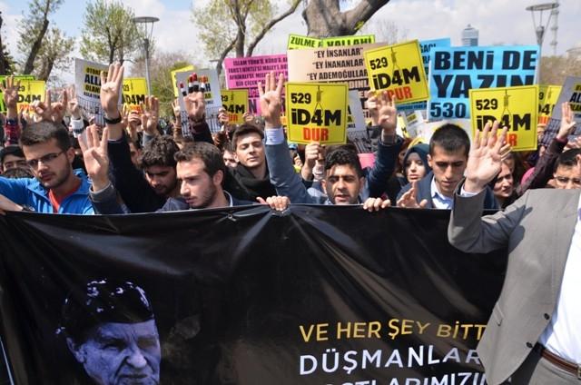 Mısır'daki idam kararları Konya'da protesto edildi 5