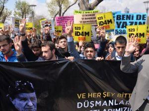 Mısır'daki idam kararları Konya'da protesto edildi