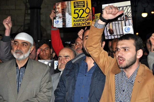 Mısır'da 528 kişinin idama mahkum edilmesi 5