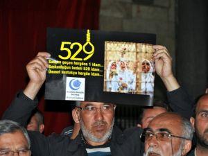 Mısır'da 528 kişinin idama mahkum edilmesi
