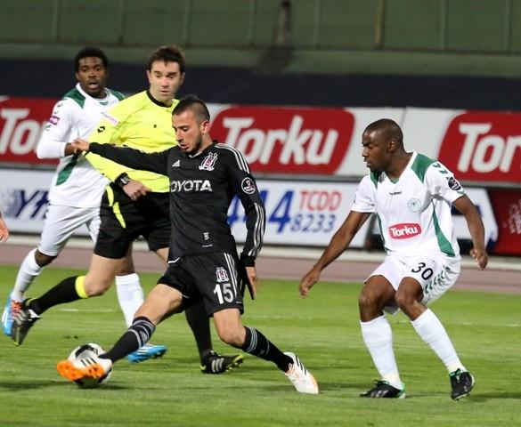 Torku Konyaspor 1 - Beşiktaş 1 13