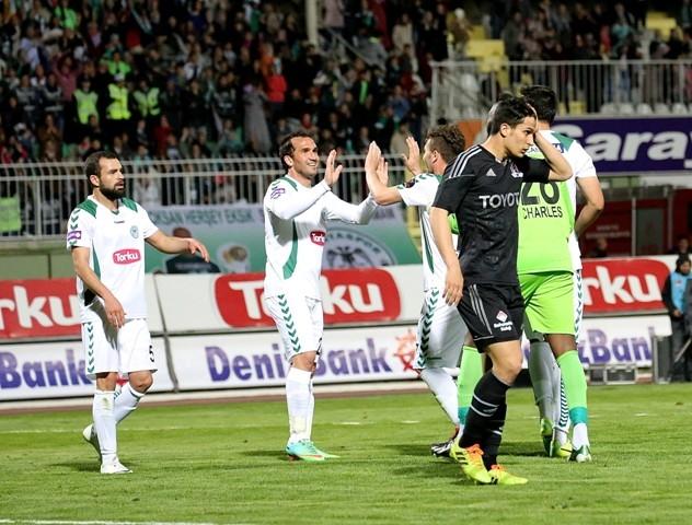 Torku Konyaspor 1 - Beşiktaş 1 41