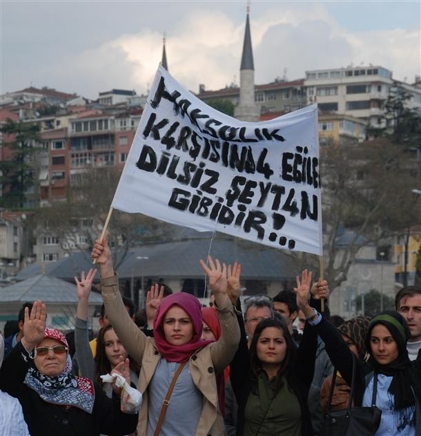 İdamlara protesto 8