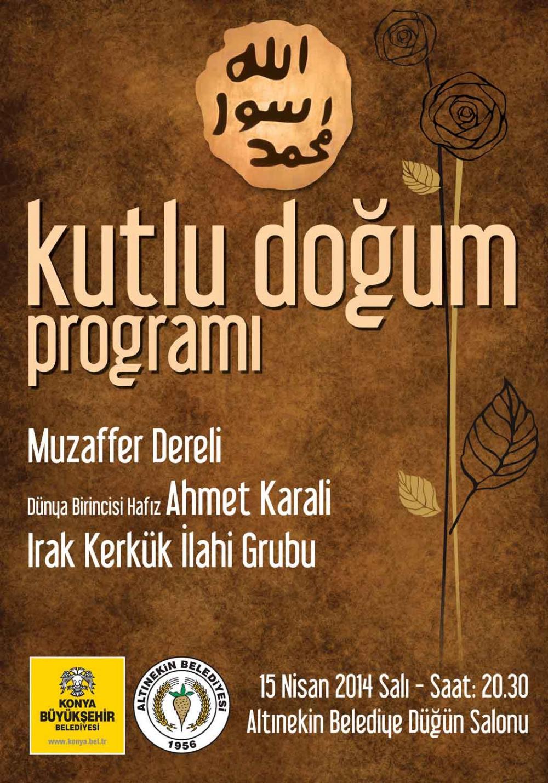 """Büyükşehir'den İlçelerde """"Kutlu Doğum"""" Programı 2"""
