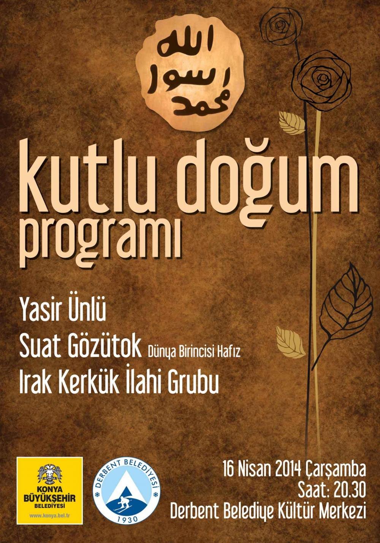 """Büyükşehir'den İlçelerde """"Kutlu Doğum"""" Programı 3"""