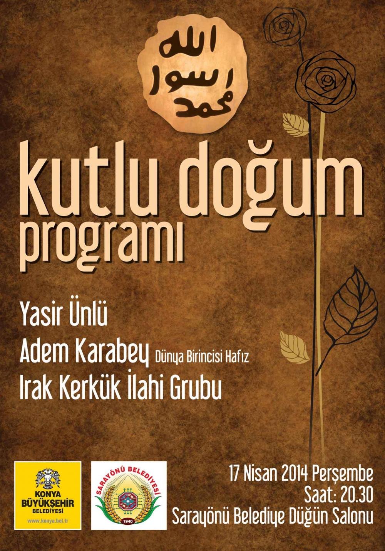 """Büyükşehir'den İlçelerde """"Kutlu Doğum"""" Programı 4"""