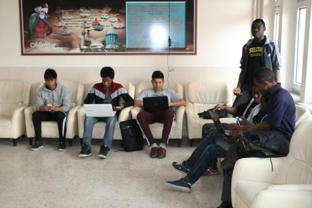 Uluslararası İHL öğrencilerinin Türkiye Anayurtları gibi 32
