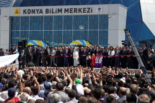 Başbakan Erdoğan Konya'da Bilim Merkezini Açtı 5
