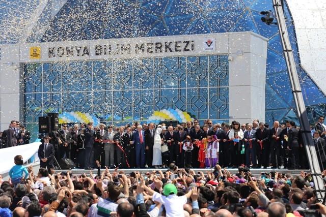 Başbakan Erdoğan Konya'da Bilim Merkezini Açtı 8