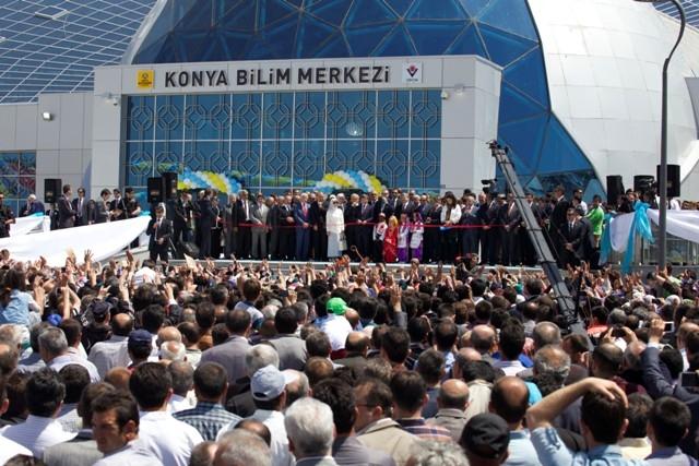 Başbakan Erdoğan Konya'da Bilim Merkezini Açtı 9