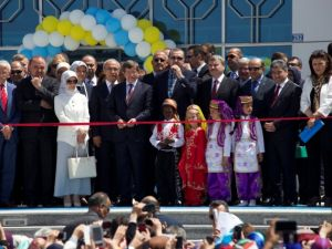 Başbakan Erdoğan Konya'da Bilim Merkezini Açtı