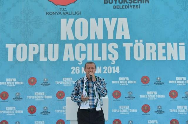 Başbakan Erdoğan Konya'da 19