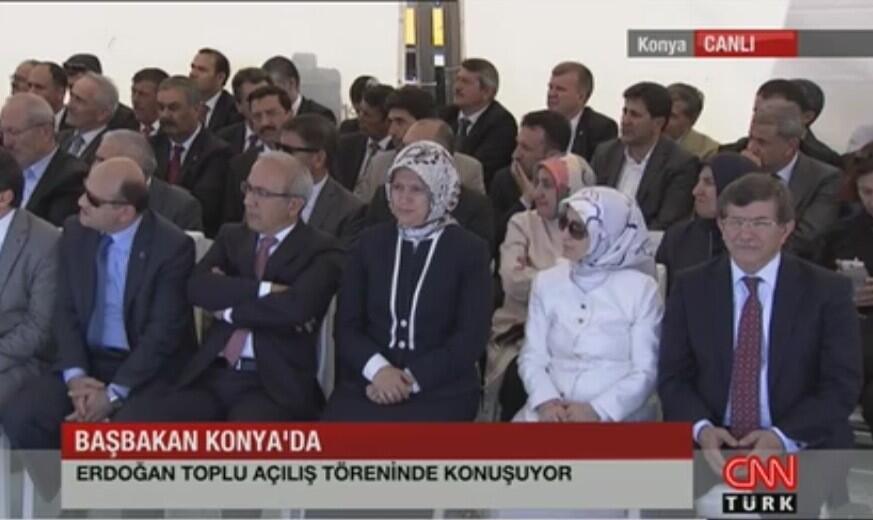 Başbakan Erdoğan Konya'da 22
