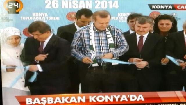 Başbakan Erdoğan Konya'da 23