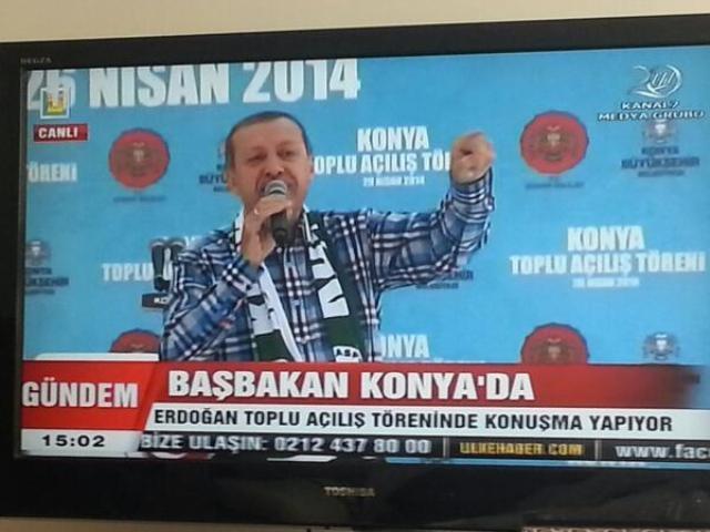 Başbakan Erdoğan Konya'da 26