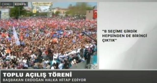 Başbakan Erdoğan Konya'da 27