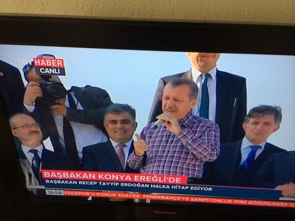 Başbakan Erdoğan Ereğli'de 12