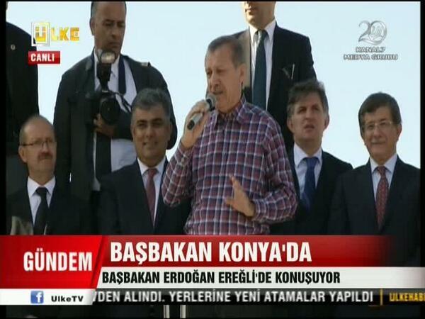 Başbakan Erdoğan Ereğli'de 13