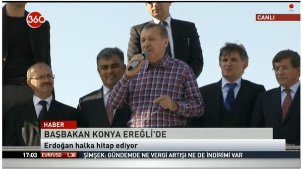 Başbakan Erdoğan Ereğli'de 9