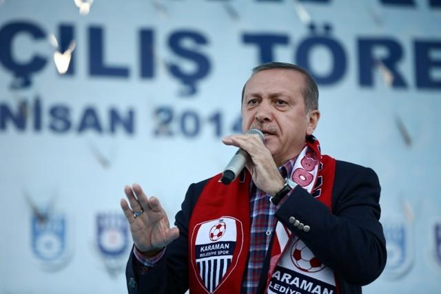 Başbakan Erdoğan, Karaman'da 12