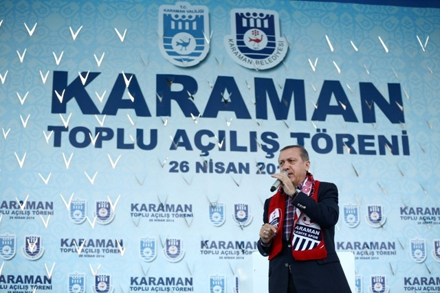 Başbakan Erdoğan, Karaman'da 13