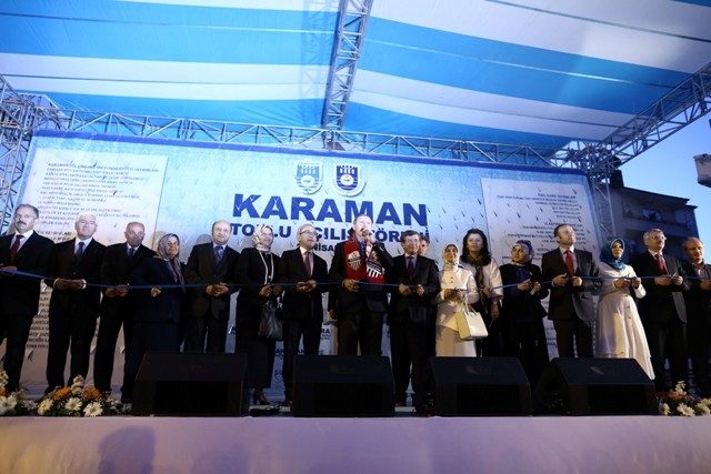 Başbakan Erdoğan, Karaman'da 14