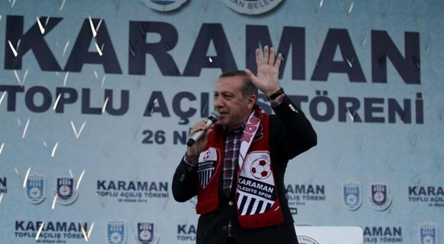 Başbakan Erdoğan, Karaman'da 16