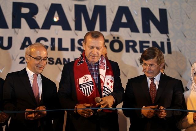 Başbakan Erdoğan, Karaman'da 20