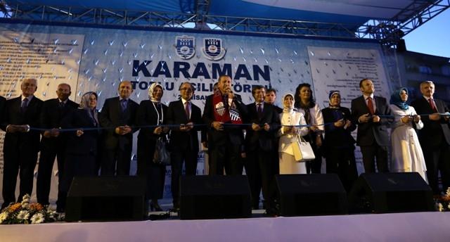 Başbakan Erdoğan, Karaman'da 23
