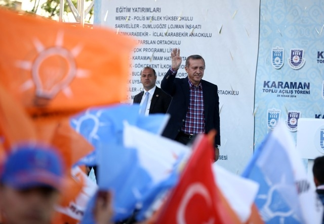 Başbakan Erdoğan, Karaman'da 30