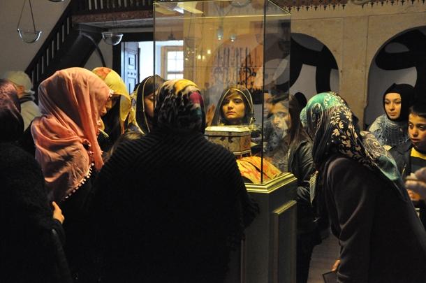 Mevlana Müzesi'nde Şeb-i Arus yoğunluğu 3