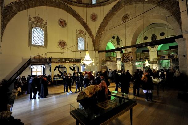 Mevlana Müzesi'nde Şeb-i Arus yoğunluğu 9