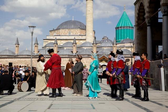 Mevlana'nın Konya'ya gelişinin 786. yıl dönümü 10