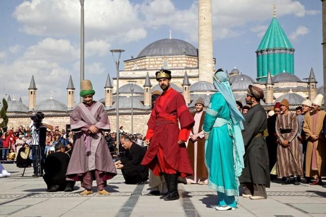 Mevlana'nın Konya'ya gelişinin 786. yıl dönümü 11