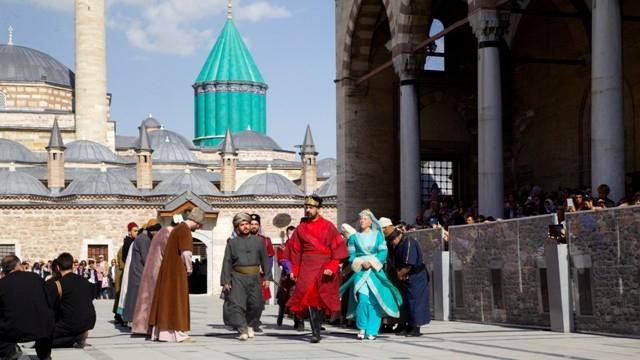 Mevlana'nın Konya'ya gelişinin 786. yıl dönümü 4
