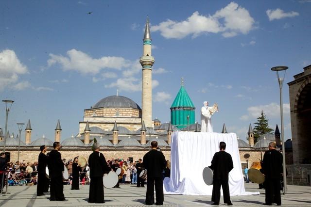 Mevlana'nın Konya'ya gelişinin 786. yıl dönümü 6