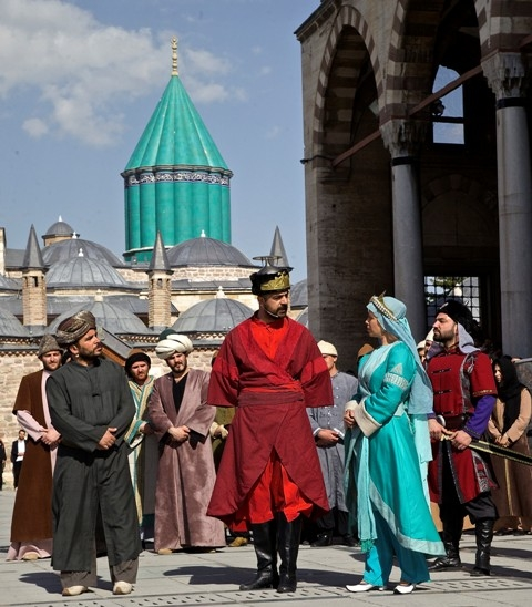 Mevlana'nın Konya'ya gelişinin 786. yıl dönümü 7