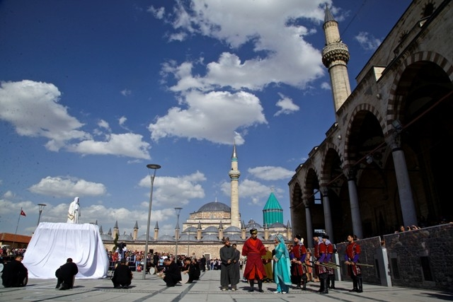 Mevlana'nın Konya'ya gelişinin 786. yıl dönümü 9