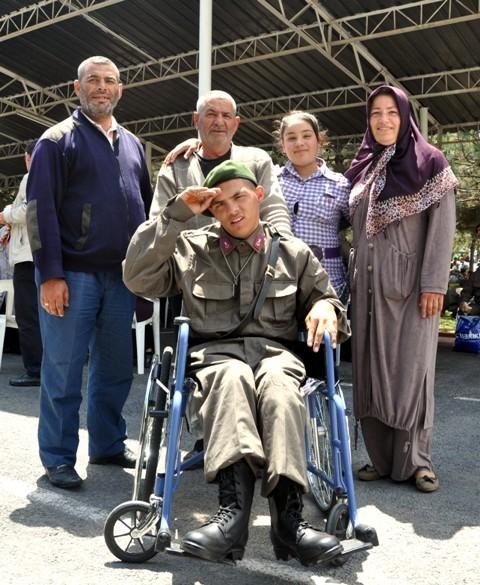 Engellilerin bir günlük askerlik heyecanı 1