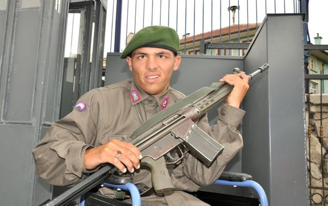 Engellilerin bir günlük askerlik heyecanı 10