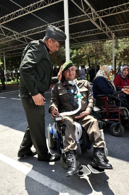 Engellilerin bir günlük askerlik heyecanı 2