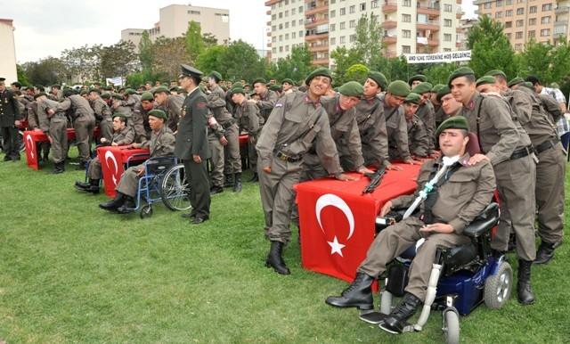 Engellilerin bir günlük askerlik heyecanı 7