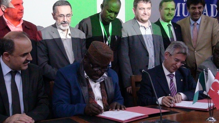 MÜSİAD Konya Nijerya heyetini ağırladı 2