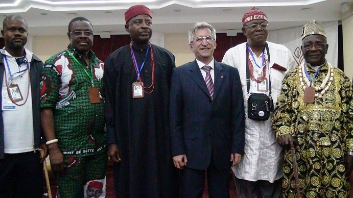 MÜSİAD Konya Nijerya heyetini ağırladı 5